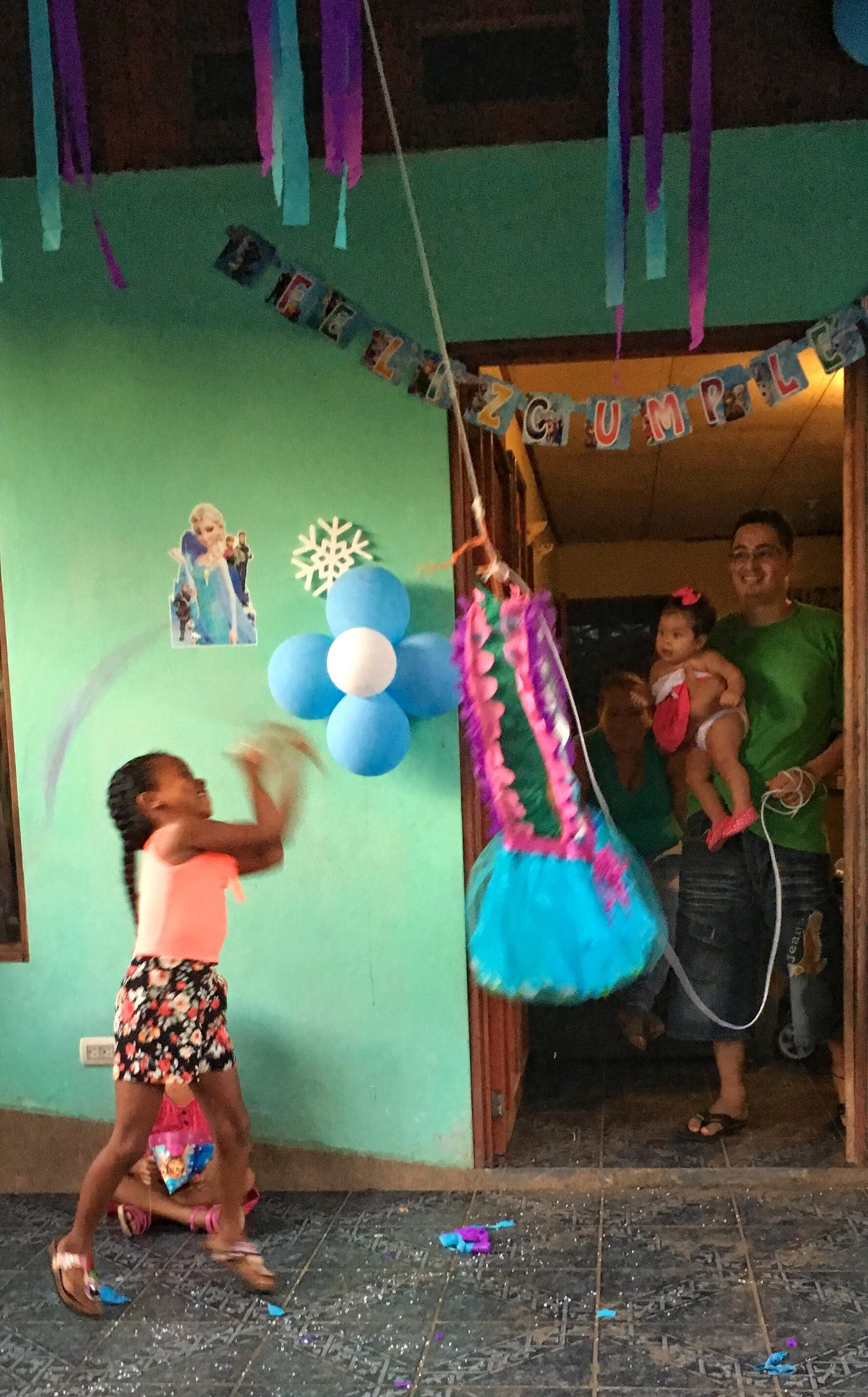People And Places Childhood Elementary Age Fun Piñata Birthday Party Costa Rica