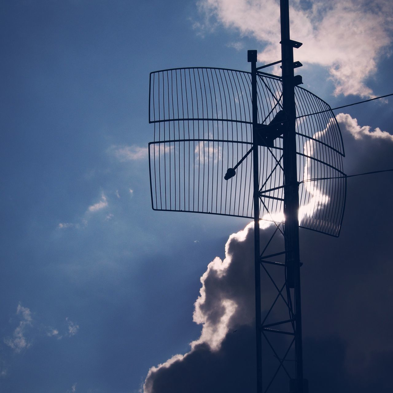 Beautiful stock photos of internet, Back Lit, Cloud - Sky, Communication, Communications Tower