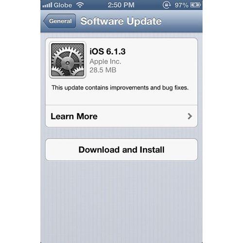 """Your life should always upgrade never downgrade"" IOSupgrade Apple IPhone Ios613 teamiphone upgrade instagram igersmanila"
