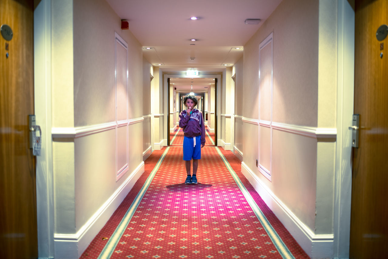 I couldn't resist..... All work and no play makes Jack a dull boy :) British Full Length Hotel Indoors  Lifestyles MOVIE One Person Real People Standing Stanley Kubrick Tribute