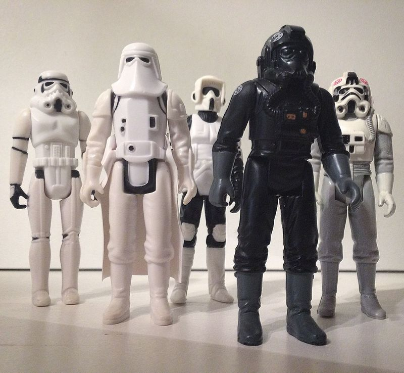 United We Stand... Star Wars Toycommunity Toy Photography Kenner Vintagetoys
