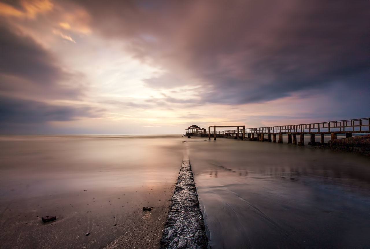 SILENT Anyerbeach Banten Cloud Cloud - Sky Dramatic Sky Horizon Over Water Indonesia_photography Landscape_photography No People Outdoors Sea Sky Sunset Travel Destinations Water Weather Nisifilters NiSi Filters
