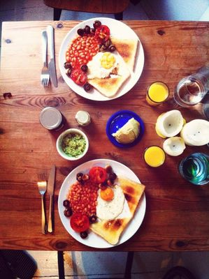 Almost a Full English at Home by René Machel
