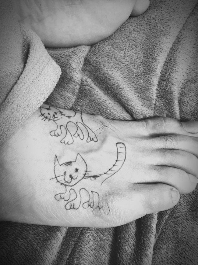 落書き ごろちゃん 猫 Cat