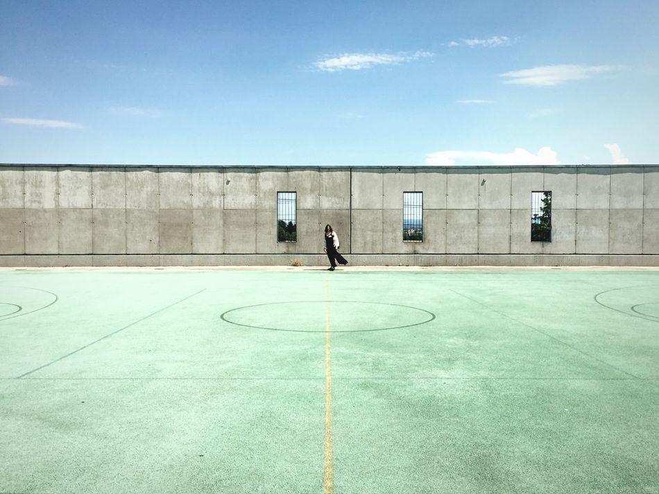 Beautiful stock photos of football, Architecture, Blue, Building, Building Exterior