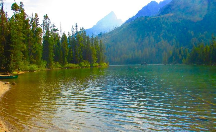Backround Backround Lover Grand Tetons National Park Hikingadventures Lake Lakeview Montains And Water  Nature Photography Nature_collection No People Outdoors Outdoors Photograpghy  Water Water_collection Waterscape