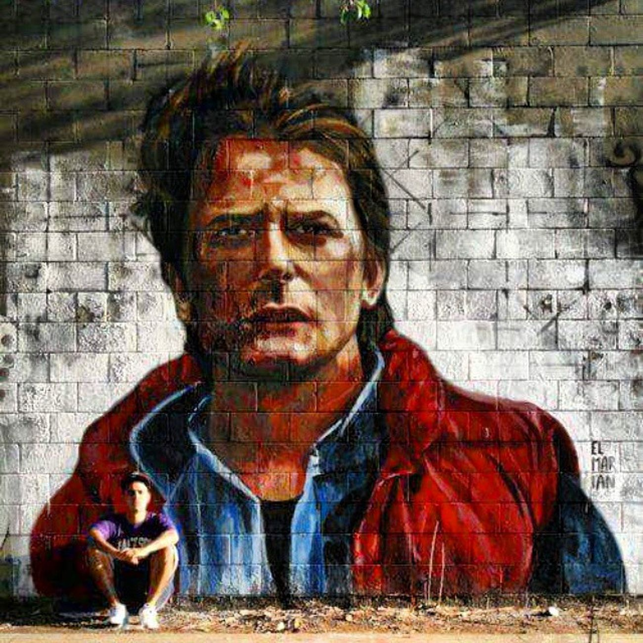 Some Back To Future street art Bttf Martymcfly Backtothefuture Michaeljfox bestofinstagram