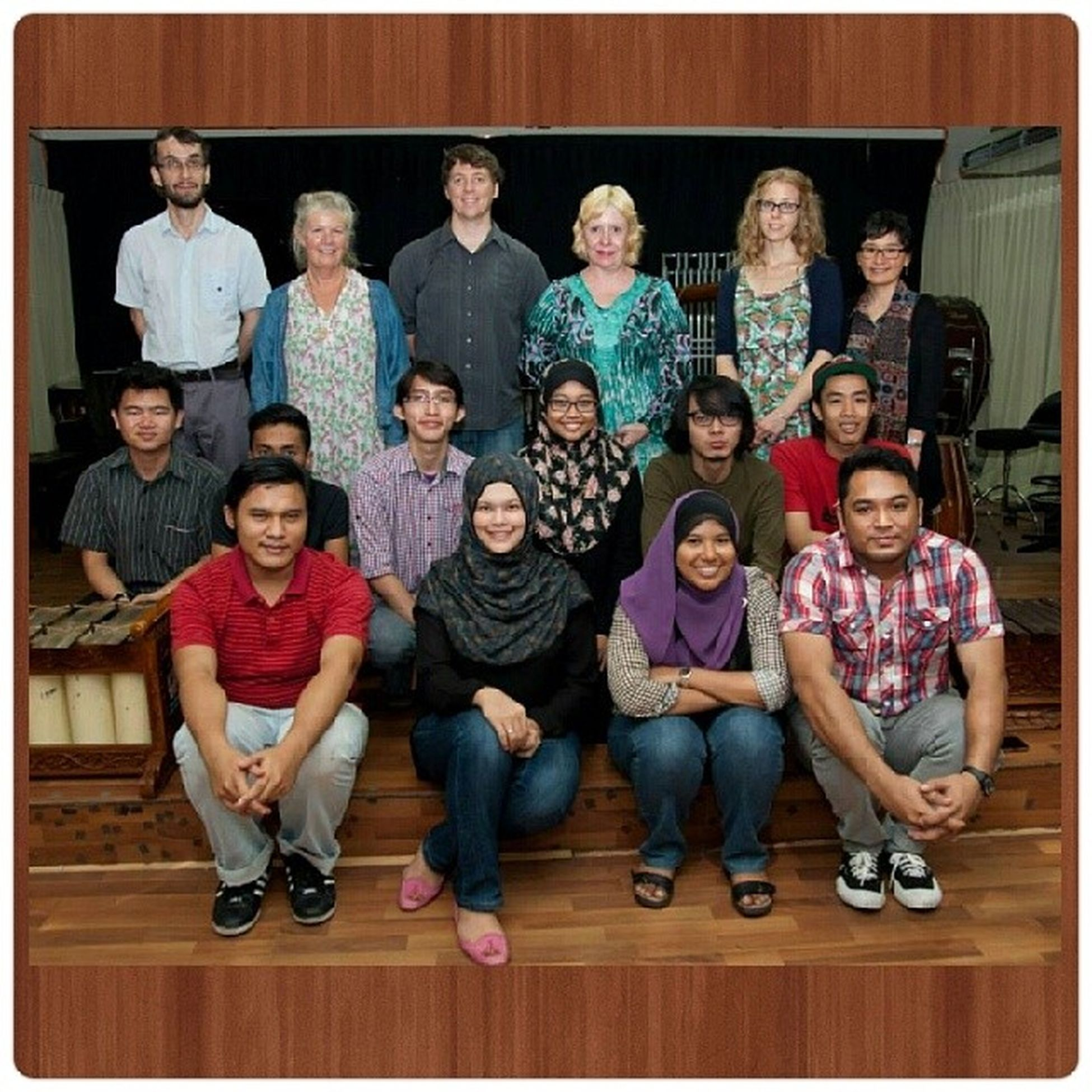 Bridges Collective's Representatives, Mr. Ross, Dr. Katia, the Composers and Players. BridgesCollectiveCompetition2014 .