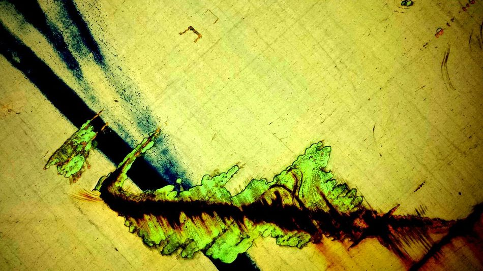 Shadow High Angle View Day No People Sunlight Outdoors Close-up Multi Colored Freshness Mountain_collection Beauty In Nature Paint Decay Rusty Trainphotography Metaphorical Photography Nature California Dreaming Abstract Weathered Full Frame Futuristic Vibrant Color Illuminated Bright Green Textured
