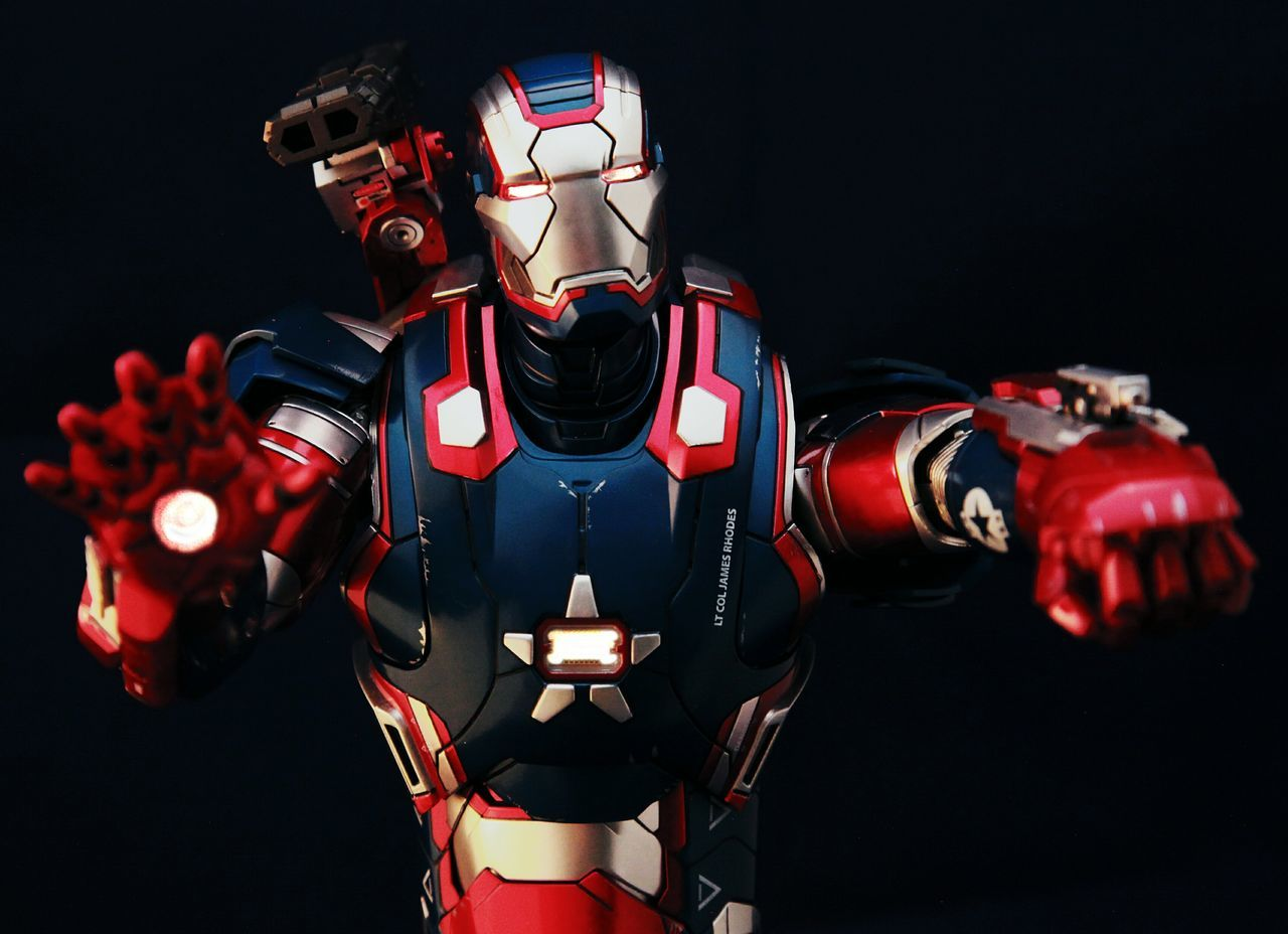 Check This Out Warmachine IronPatriot Ironlegion Housepartyprotocol Onesixthscale Toyphotography Marvel Hottoys Ironman WARMACHINEROX