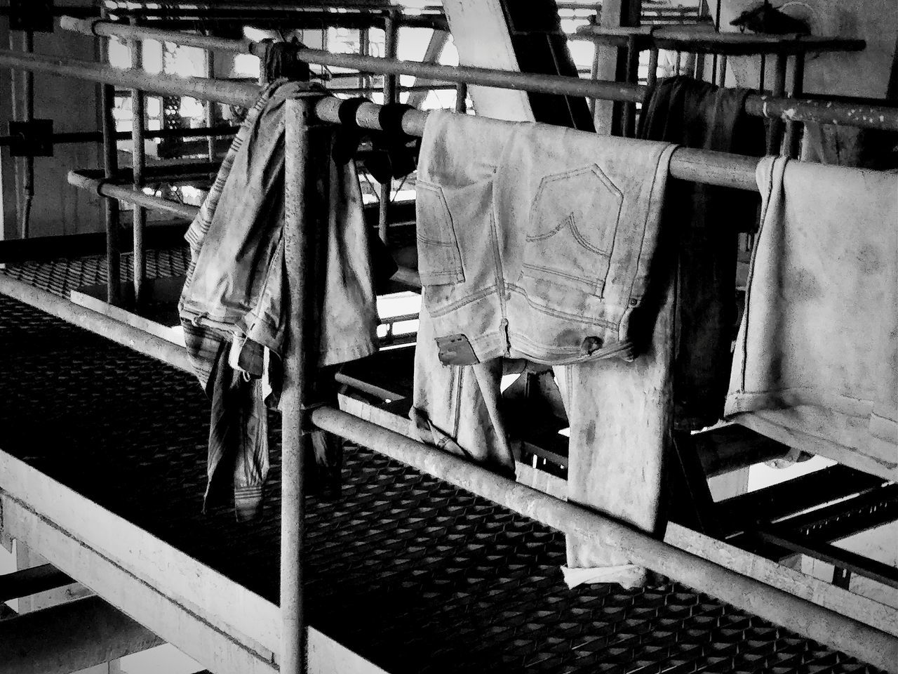 Day Indoors  Real People Occupation One Person Only Men People TheWeek On EyEem Monochrome Black & White Blackandwhite Bnw Clothing Dry Depression - Sadness Sadness Indoors