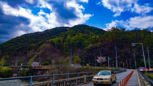 춘천 봉의산 소양1교 하늘