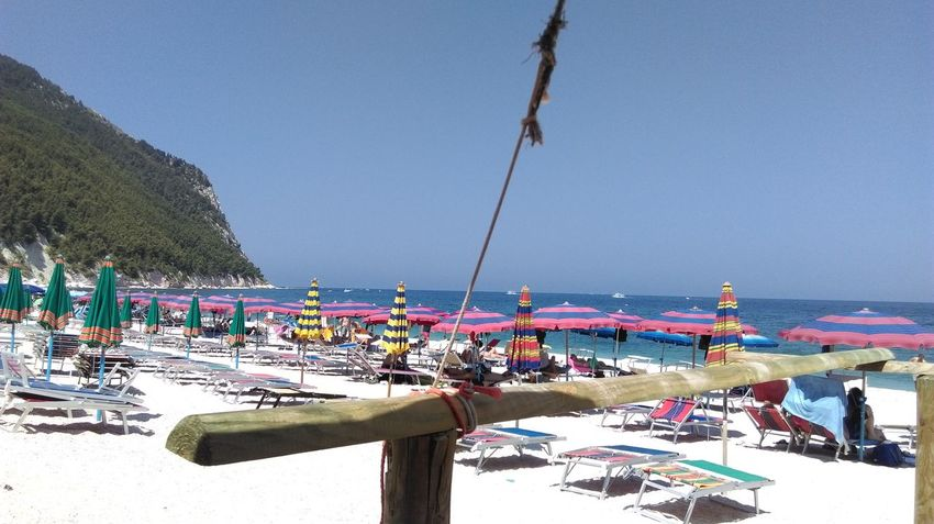 Portonovo Conero Spiaggia San Michele Sea Traveling Seaside Sea And Sky Sky Sea_collection Go To The Sea Showcasejuly Life Is A Beach Beach