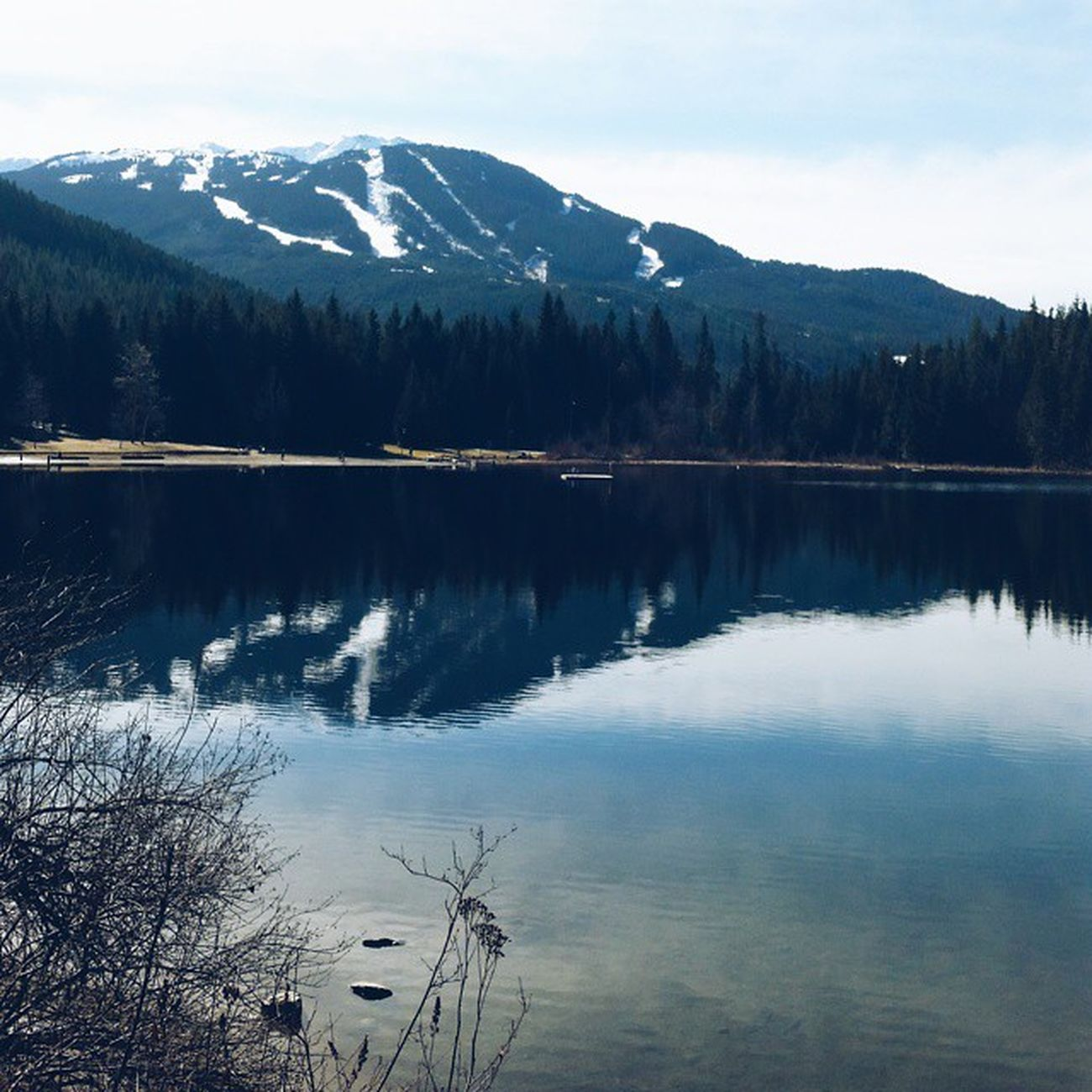 Chasing angels or fleeing demons, go to the mountains - Jeffrey Rasley || Hiking Beautifulbc Latergram Takesmeback vscocam whistler gtfoutside mountains reflection