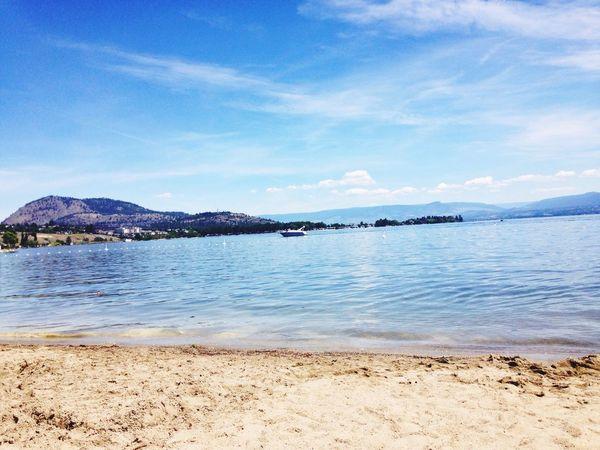 Summer weather in June, Lake Okanagan, West Kelowna, Canada Summertime Summer Okanagan Valley British Columbia Okanaganlake Canada