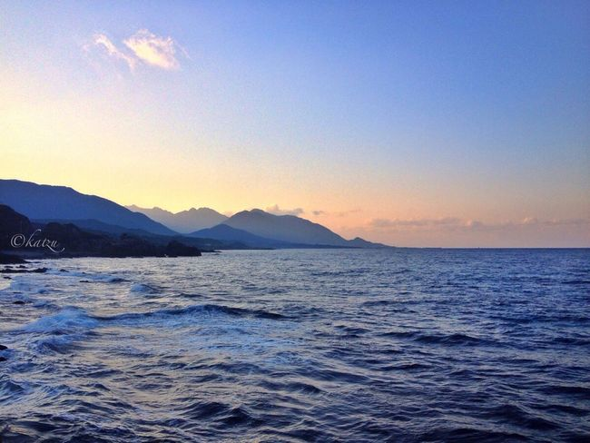 EyeEm Nature Lover 屋久島 (Yakushima Of The World Natural Heritage) Nature_collection Landscape_Collection Dusk Sea_collection