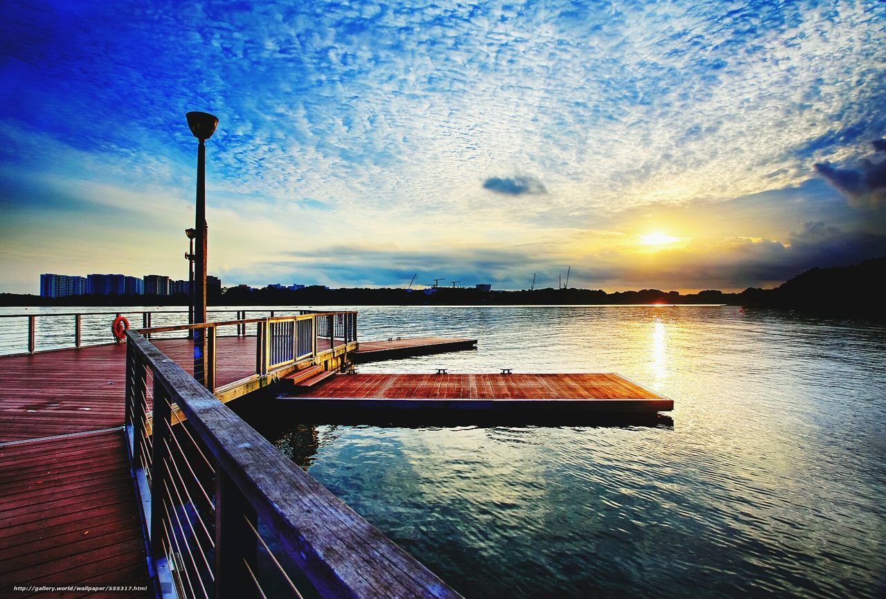water, sky, cloud - sky, sunset, beauty in nature, nature, scenics, no people, nautical vessel, outdoors, tranquility, sea, day