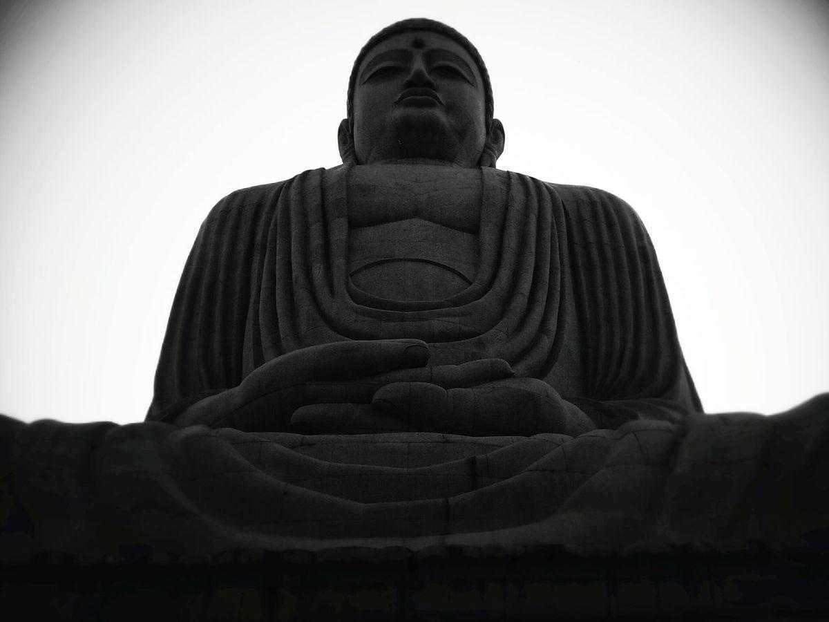 Lord Buddha Buddha Buddha Statue Lord Buddha Blackandwhite Black & White Black And White