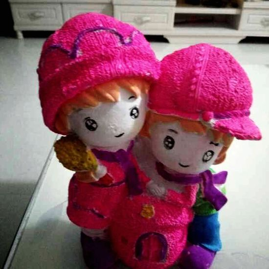Toy Human Representation Doll Stuffed Toy Pink Color No People Close-up Childhood