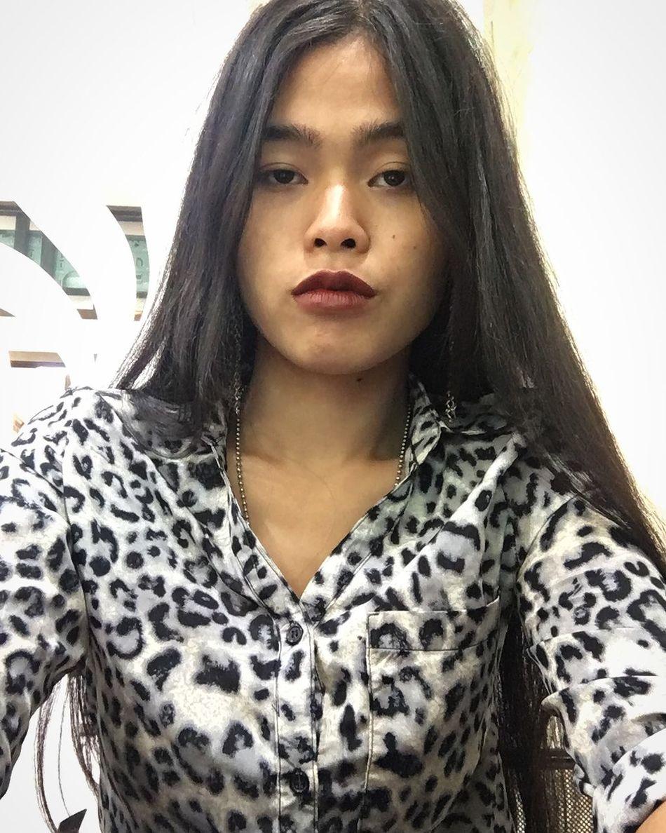 Sleepy? Selfie Meetings Working Hard Sleepy Feeling Sick Daytime Bored Mlife WorkLife Long Hair Black Hair Indoors