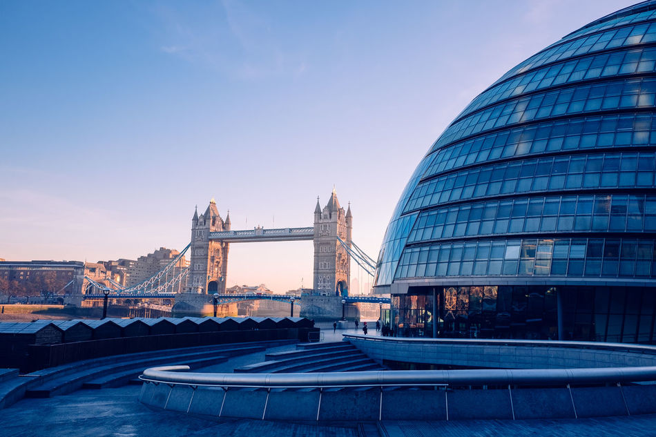 More London Architecture Architecture Christmas City City Hall Frosty London Modern Morning Scoop Southwark  Sunrise Tower Bridge  Winter