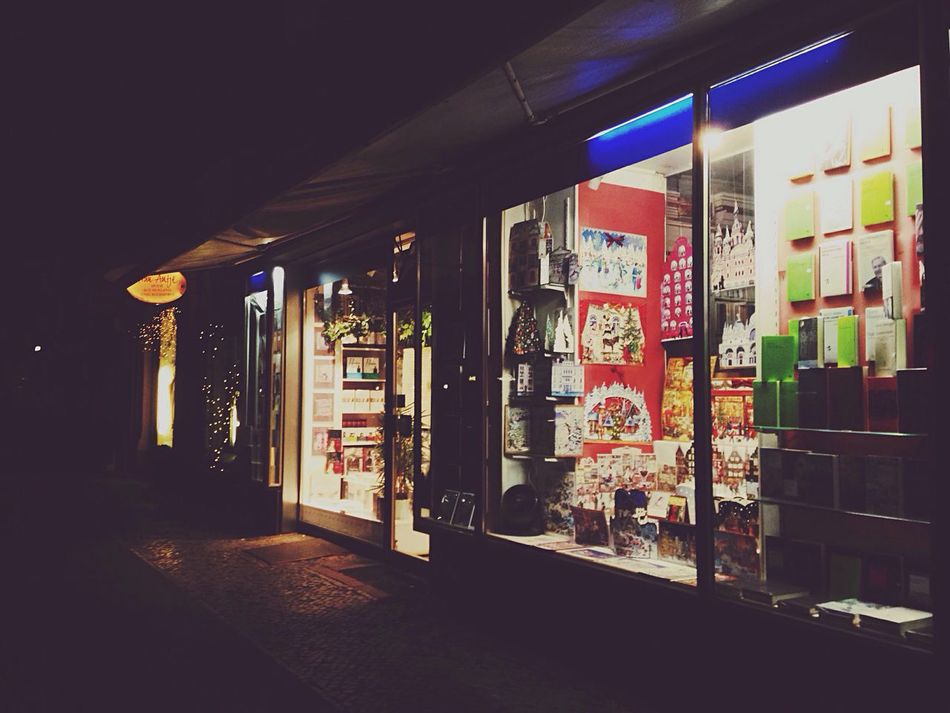 Berlin always Night Berlin Lights Bluelight
