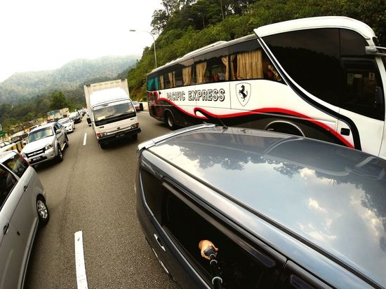 Good Morning On The Way Back Home Holiday Kedah Alor Star Heavy Jam Highway Gopro Goprooftheday Vscocam