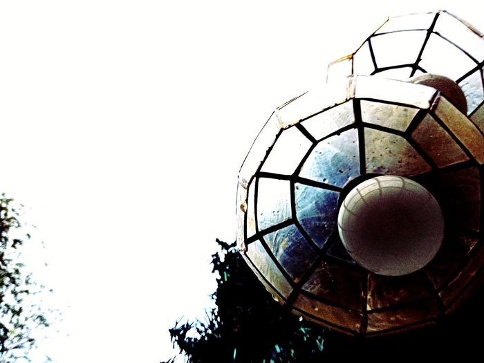 Capiz Shell Lamp Lamp Capiz Shell Bulb Day Built Structure Architecture Outdoors No People Sky Close-up first eyeem photo