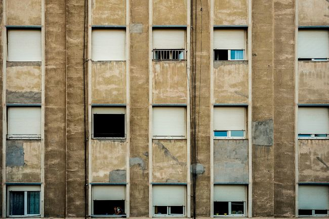 Window Architecture Building Exterior Built Structure Repetition Façade Rows Of Things Color Open Edit Fragments Of Life Textures And Surfaces