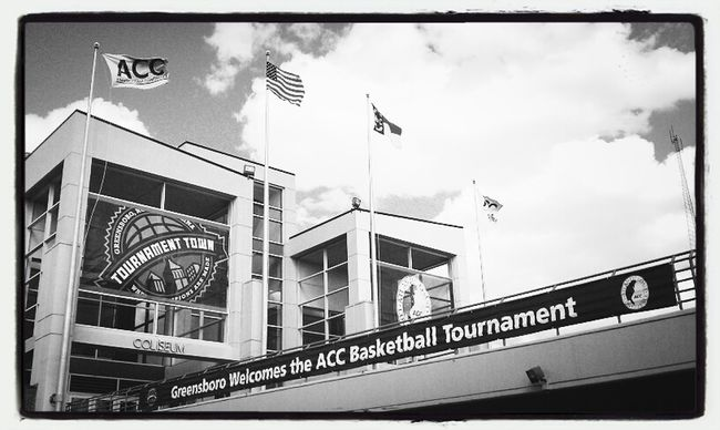 Tournament town were champions there made! #ACC #ncaambb