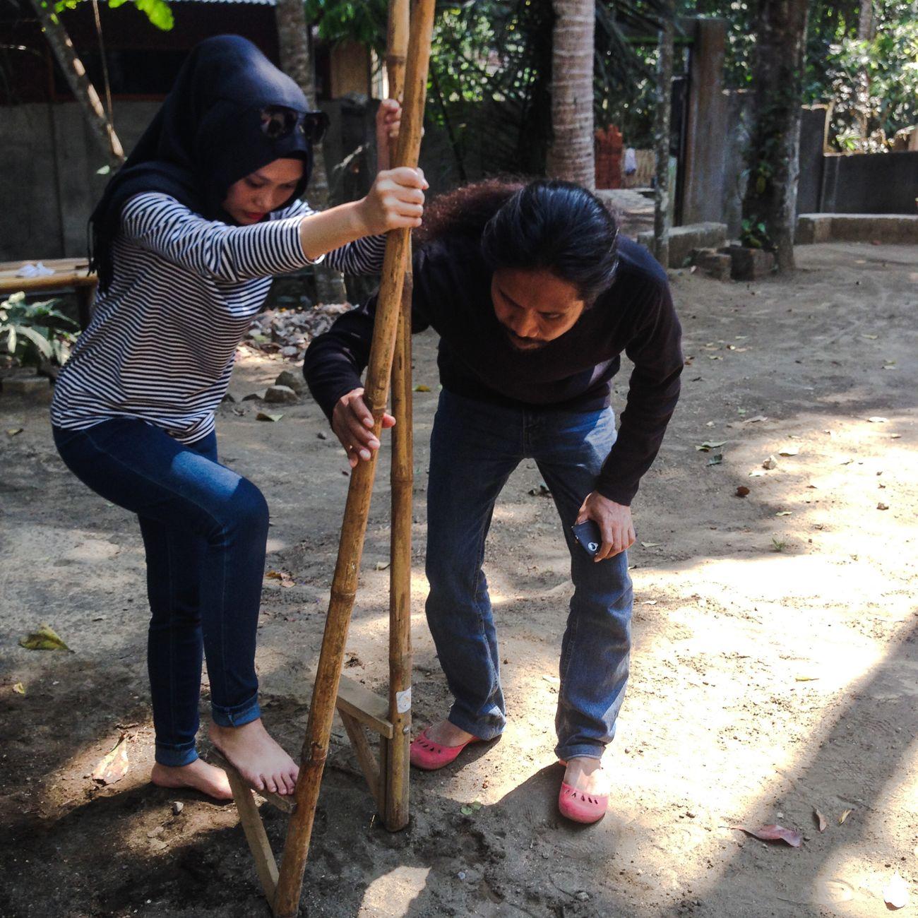 Egrang Egrang Tanoker Wisatajember Pesonajember Pesonaindonesia Traveling Wonderful Indonesia INDONESIA Travel