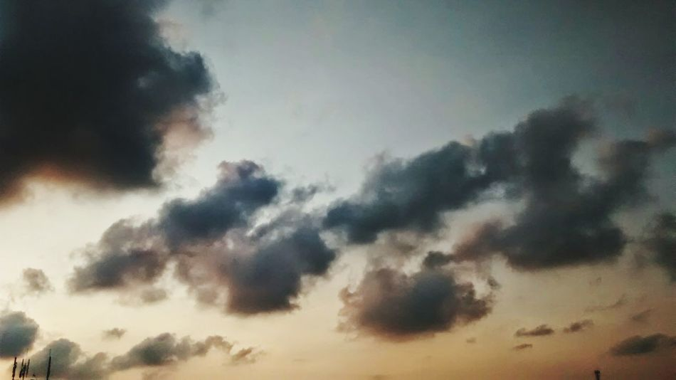 Dreaming Sky And Clouds Reality Enjoying Life