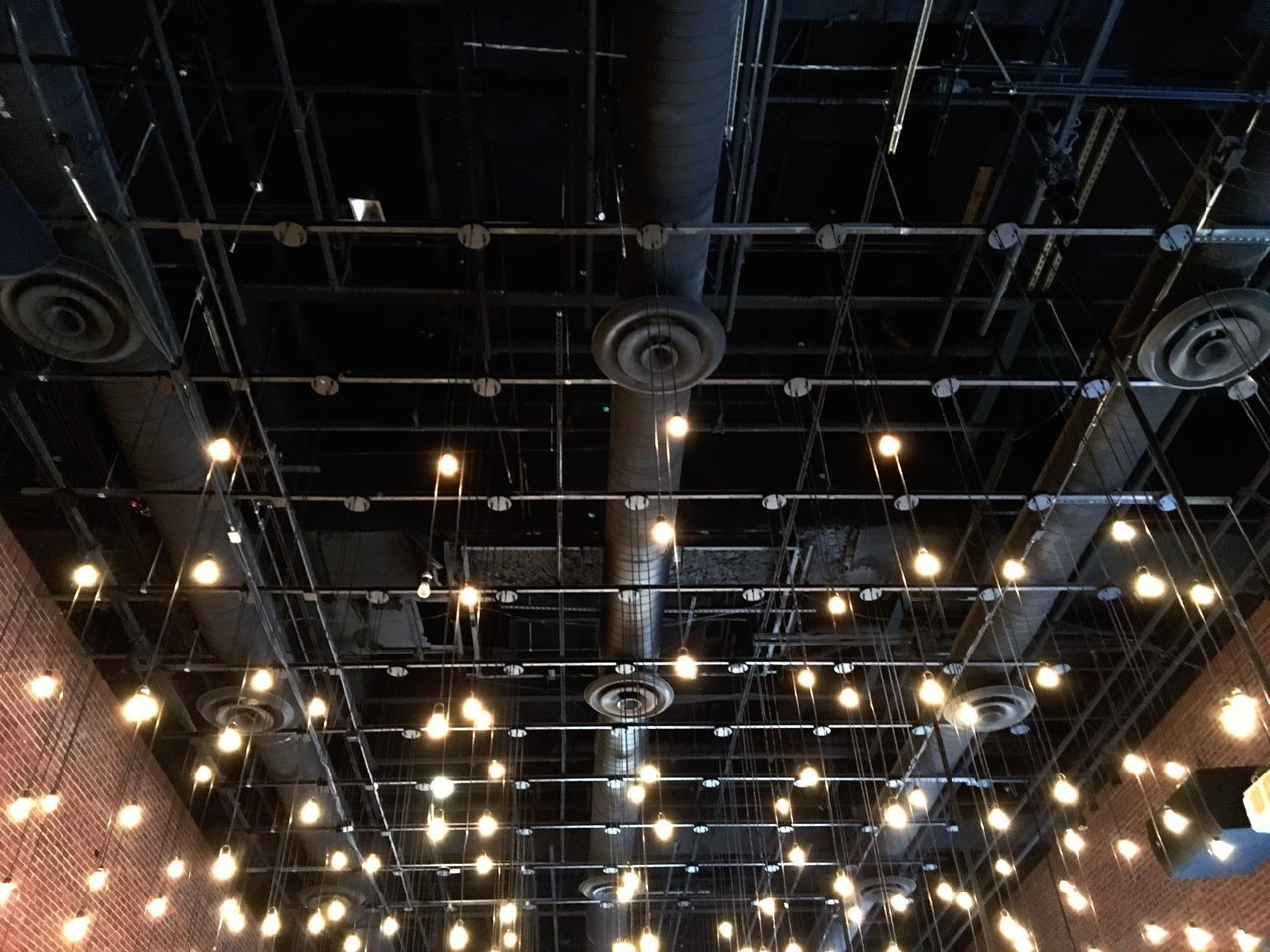 Looking Up Light Light And Shadow Cities At Night The Architect - 2016 EyeEm Awards Architecture_collection Design Repetition Pattern Lighting Equipment Ceiling Ceiling Lights Ceiling Design Open Symmetry No People Illuminated Lighting Abstract Engineering Decor Beautifully Organized