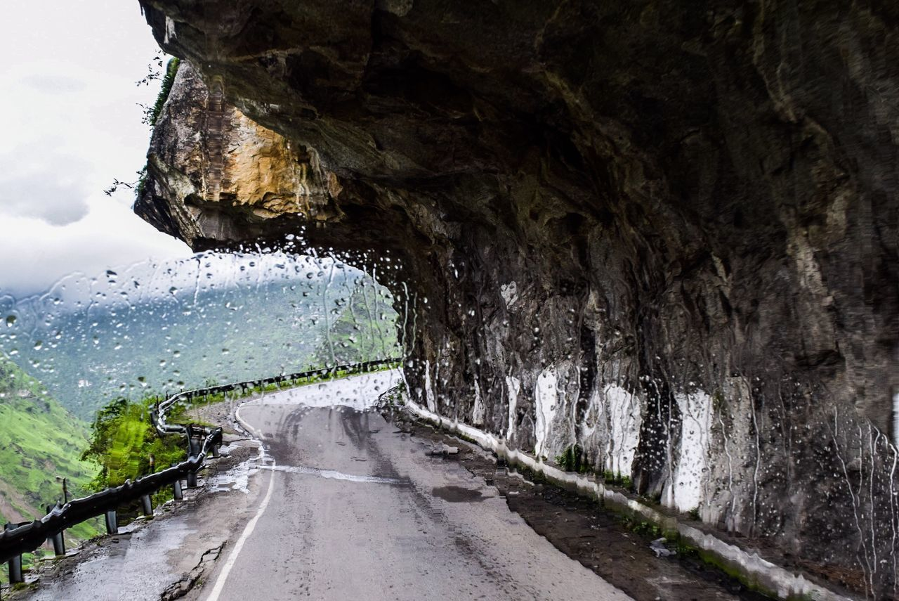 India Himalayas Kinnaur Crazy Roads Road Beauty In Nature Landscape Mountain Winding Road