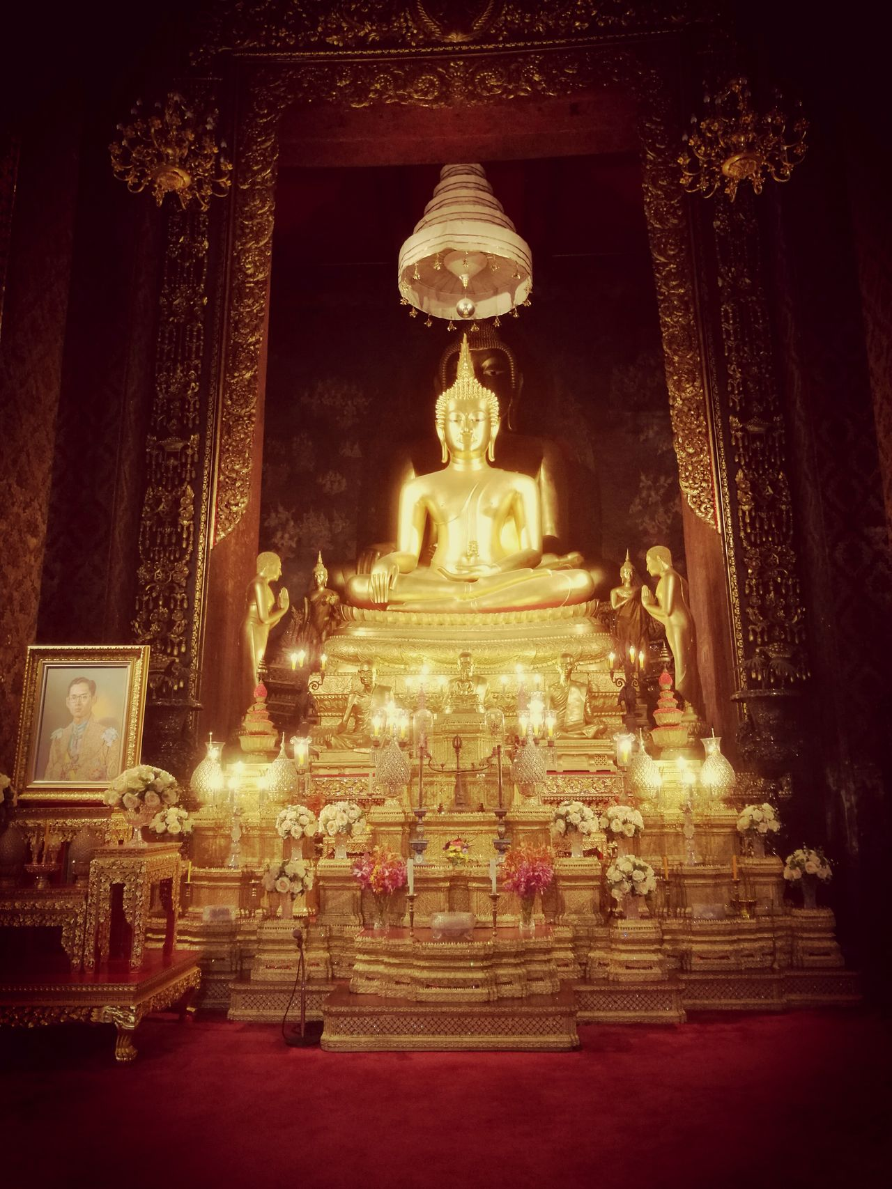 Thailand Bangkok Temple Architecture Spirituality Statue No People Gold Colored Religion Indoors  The Week On Eyem Spiritual Place Asian  Asian Photo Bangkok Streetphotography Architecture And Art Best EyeEm Shot Finding New Frontiers