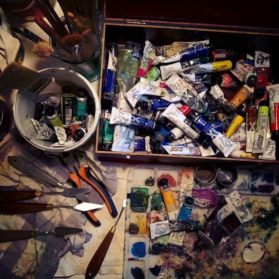 Box is open... 😁 🎨 Art Artist Live Restart Endofholidays Home Pebeo