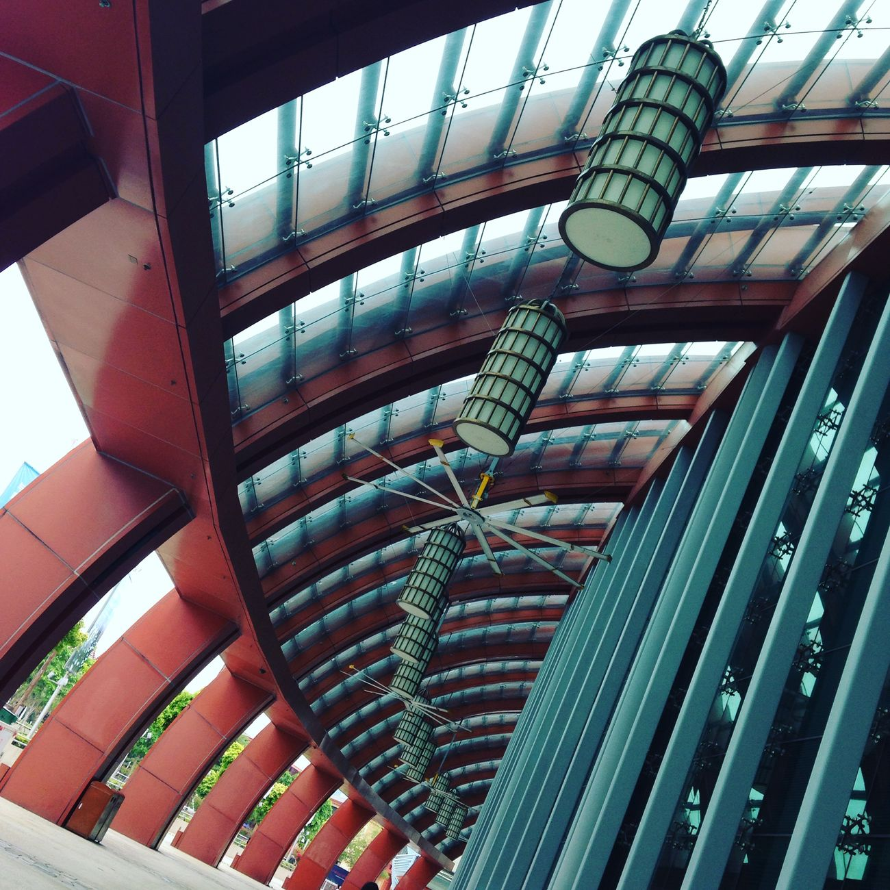 Chasing lines and patterns at Sentosa. Lines Pattern Fixture Structure