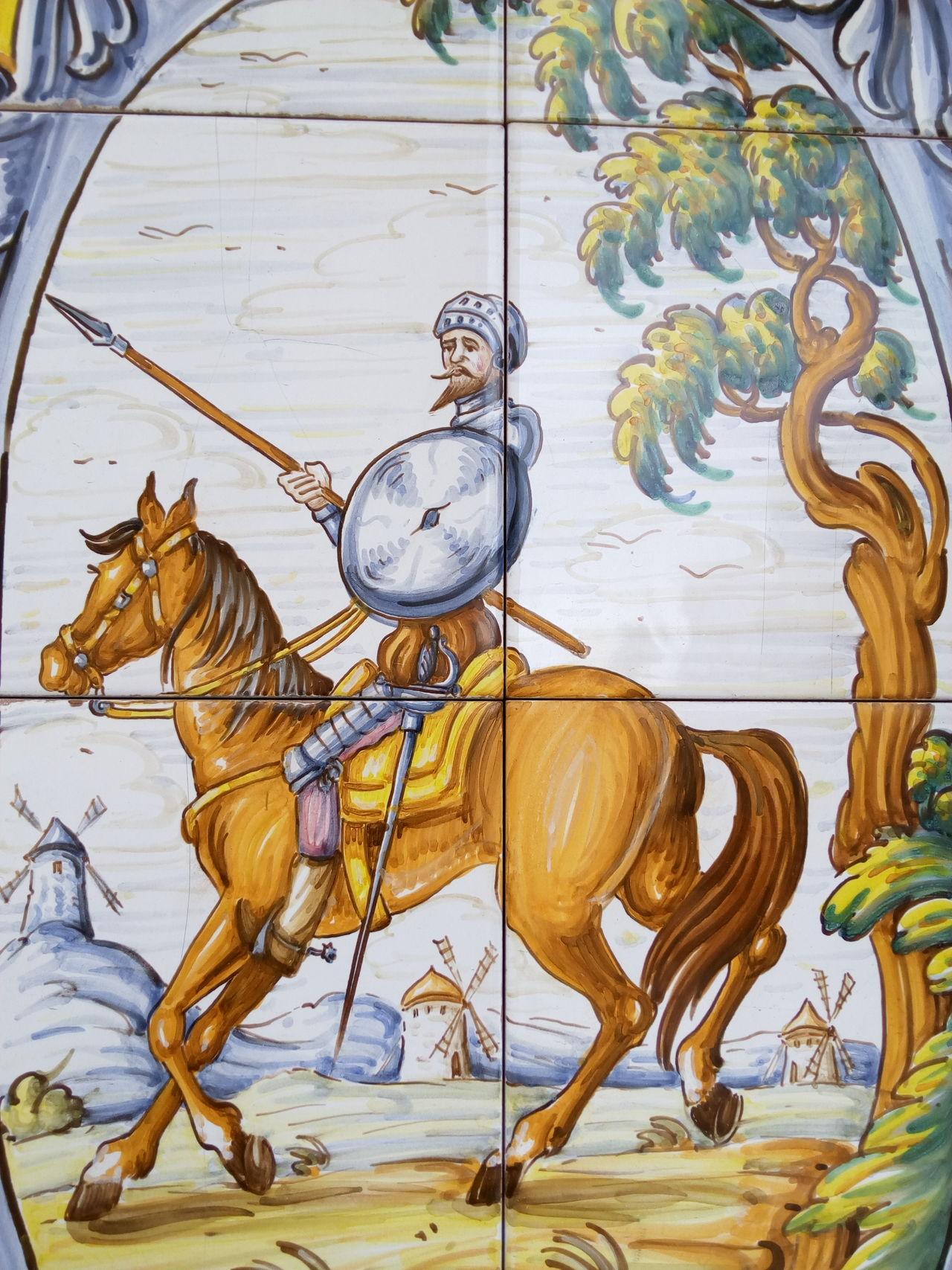 Ceramics Ceramic Ceramic Art Ceramic Tiles Ceramica Art Quijote Quixote Talavera De La Reina Toledo España SPAIN