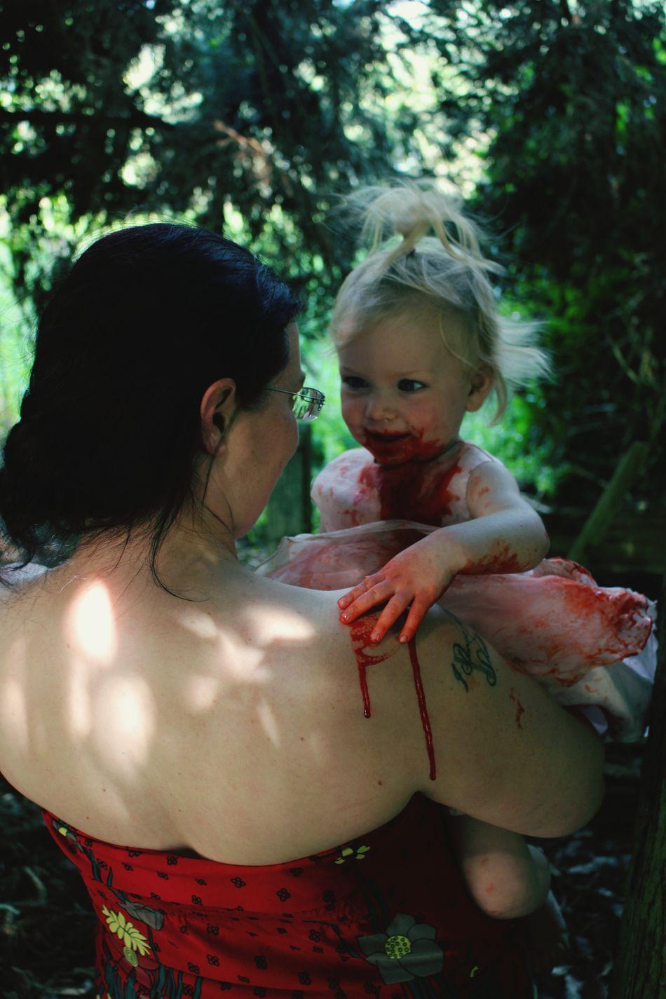 Ill Get You... Horror Happy Halloween! Horror Photography Innocence Enjoying Life Halloween2015 Love So Pure Mother & Daughter Open Edit