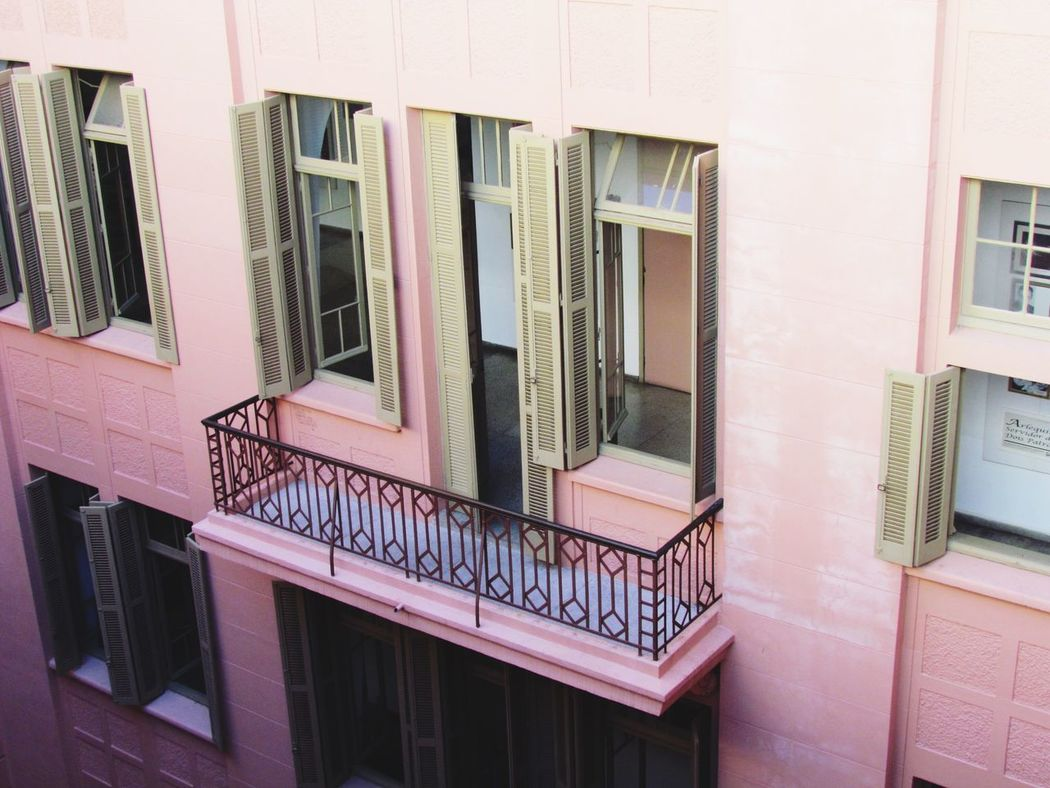Architecture Built Structure Building Exterior Window Building Day No People Outdoors Pink MarioQuintana Portoalegre  OpenEdit Beauty Architecture Artgallery