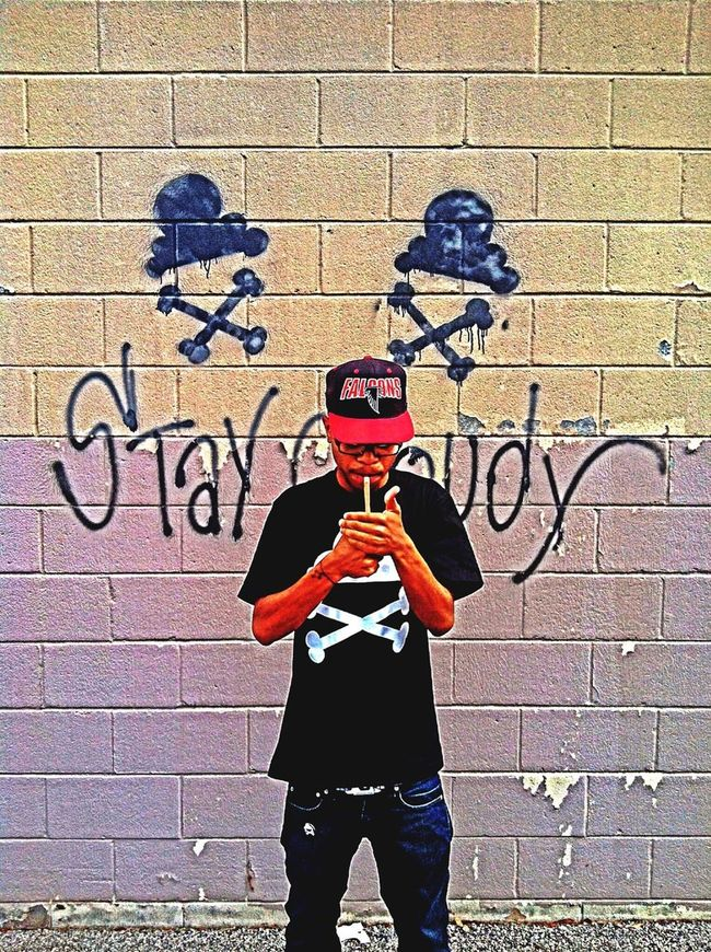 Young Saint Stay Cloudy, fuck you thought it was? ☁