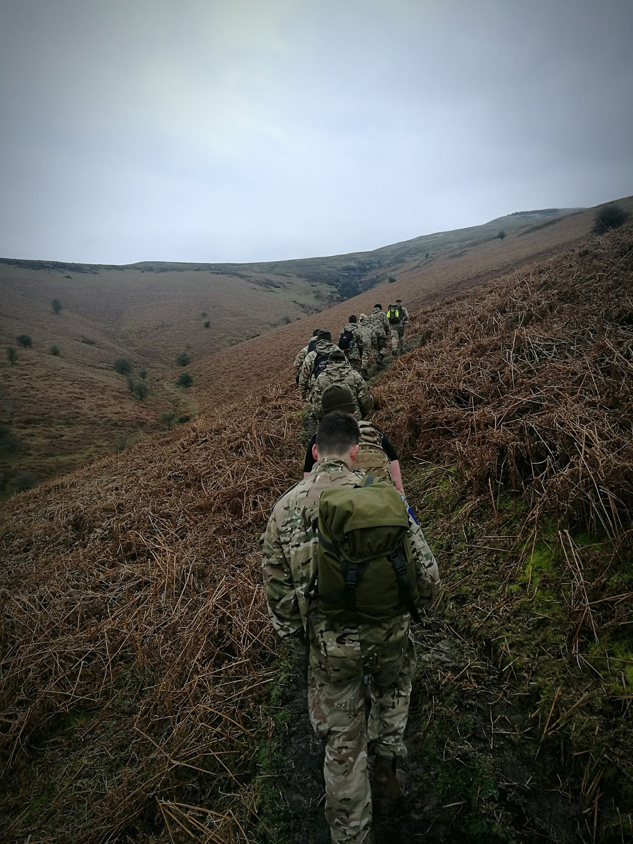 Rear View One Person People Outdoors Adult Cloud - Sky Adults Only Men Adventure Beauty In Nature One Man Only Day Sky Only Men Army Huawei P9 Leica Army Soldier Army Life Hike EyeEmNewHere