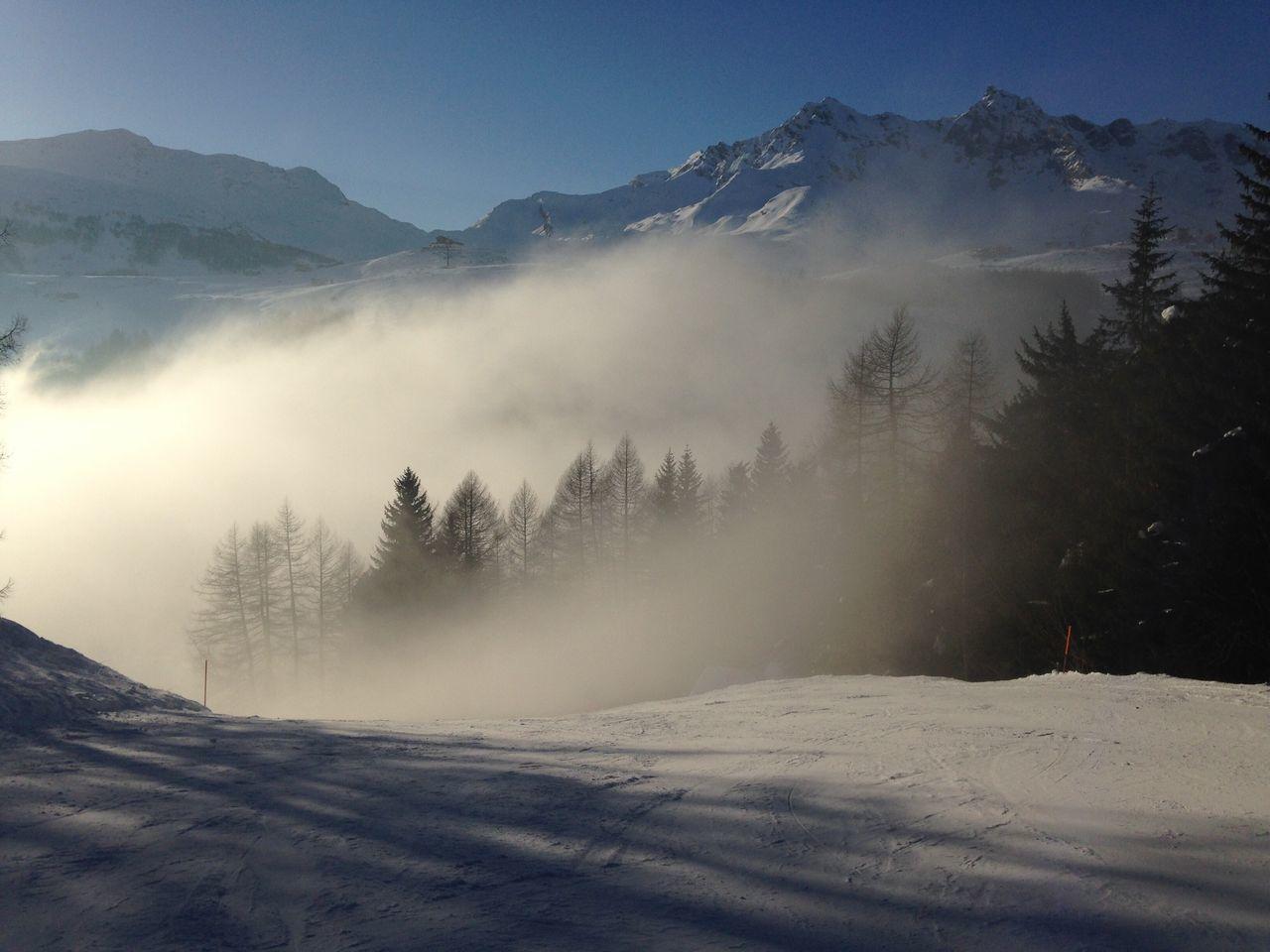 Winter Nature Mountain