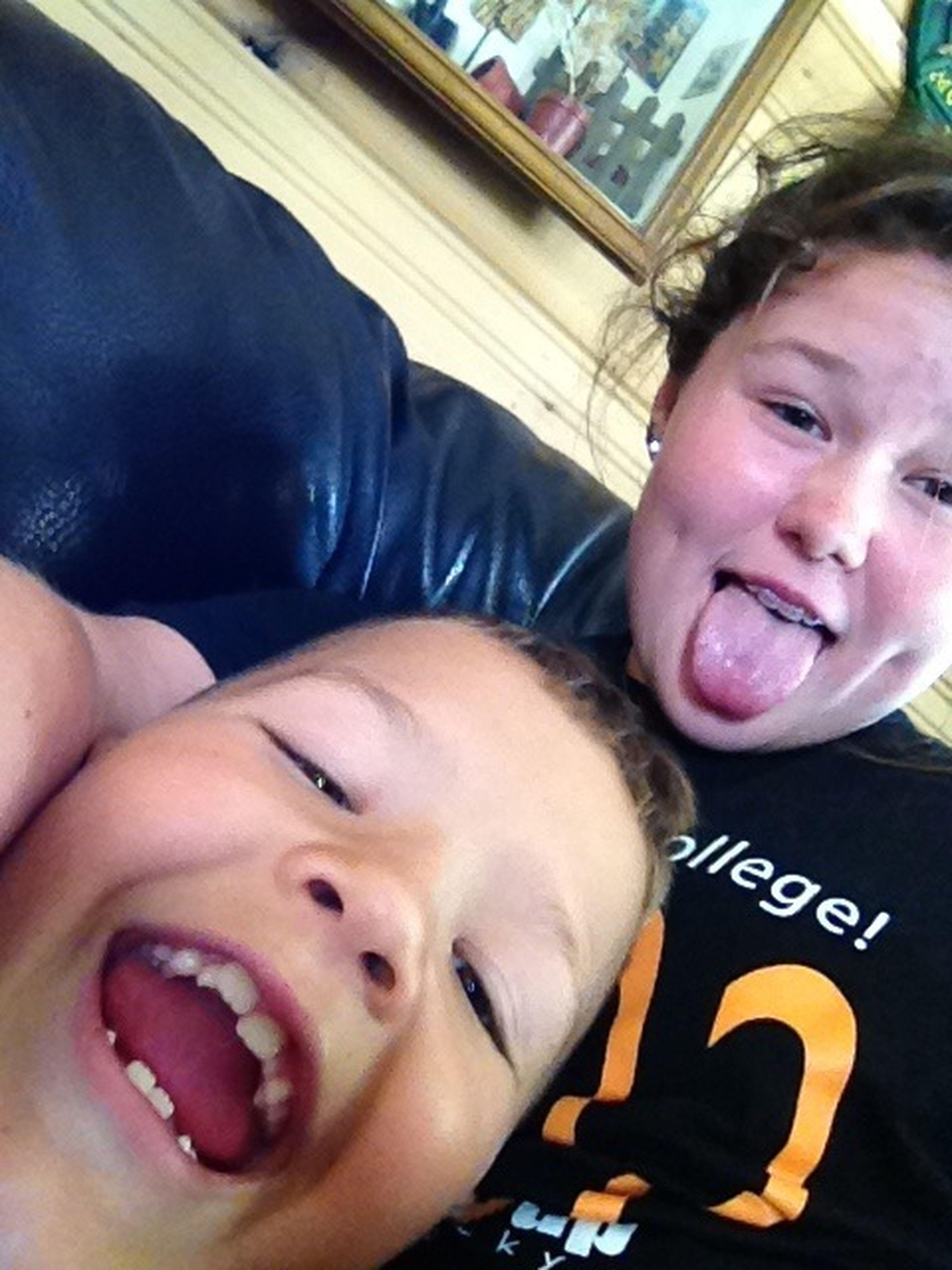 Babysitting Yall. :)