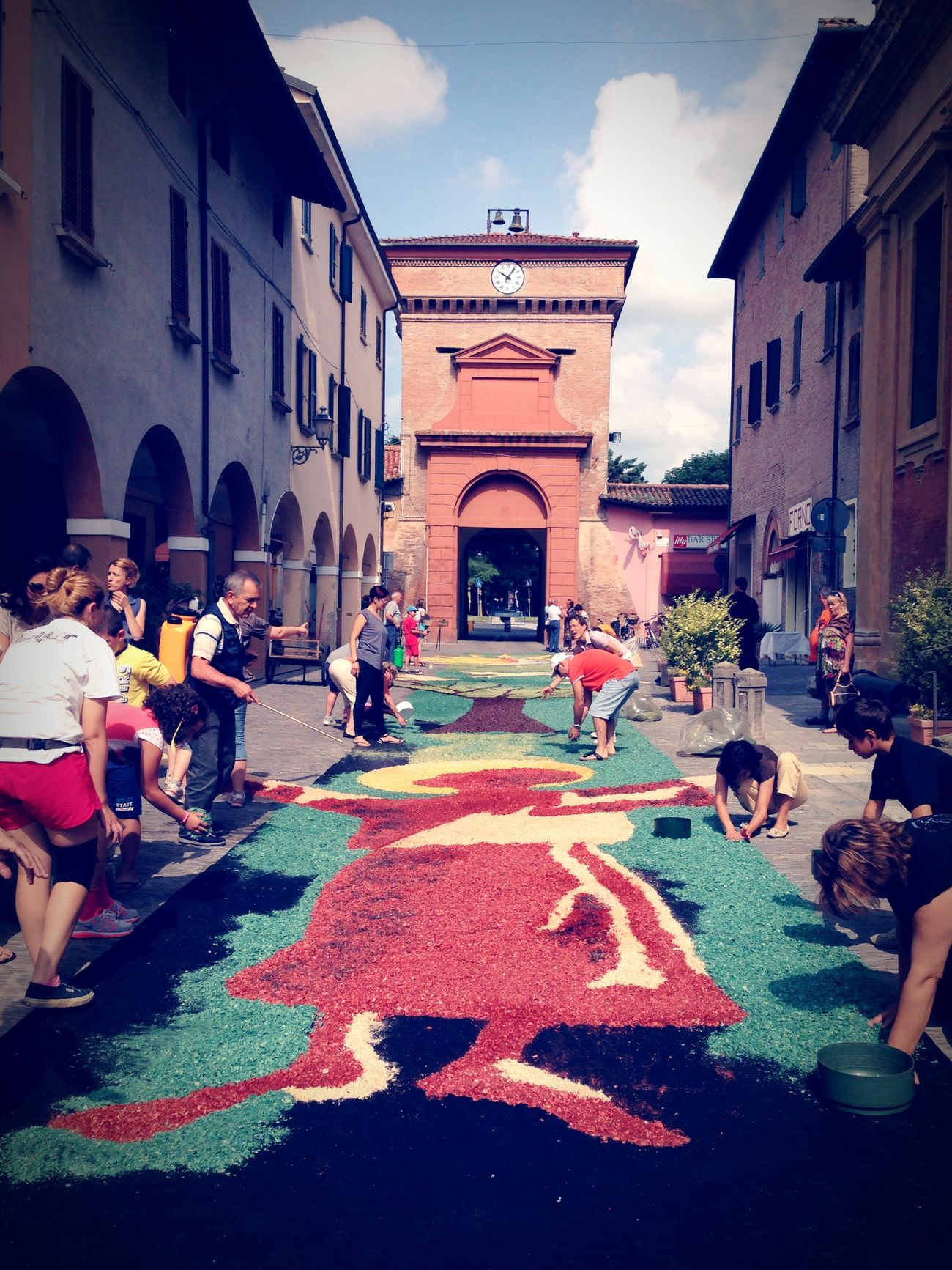 Infiorata2014 Castelguelfo Parrocchia Infiorata Taking Photos Enjoying Life Street Life Living Life