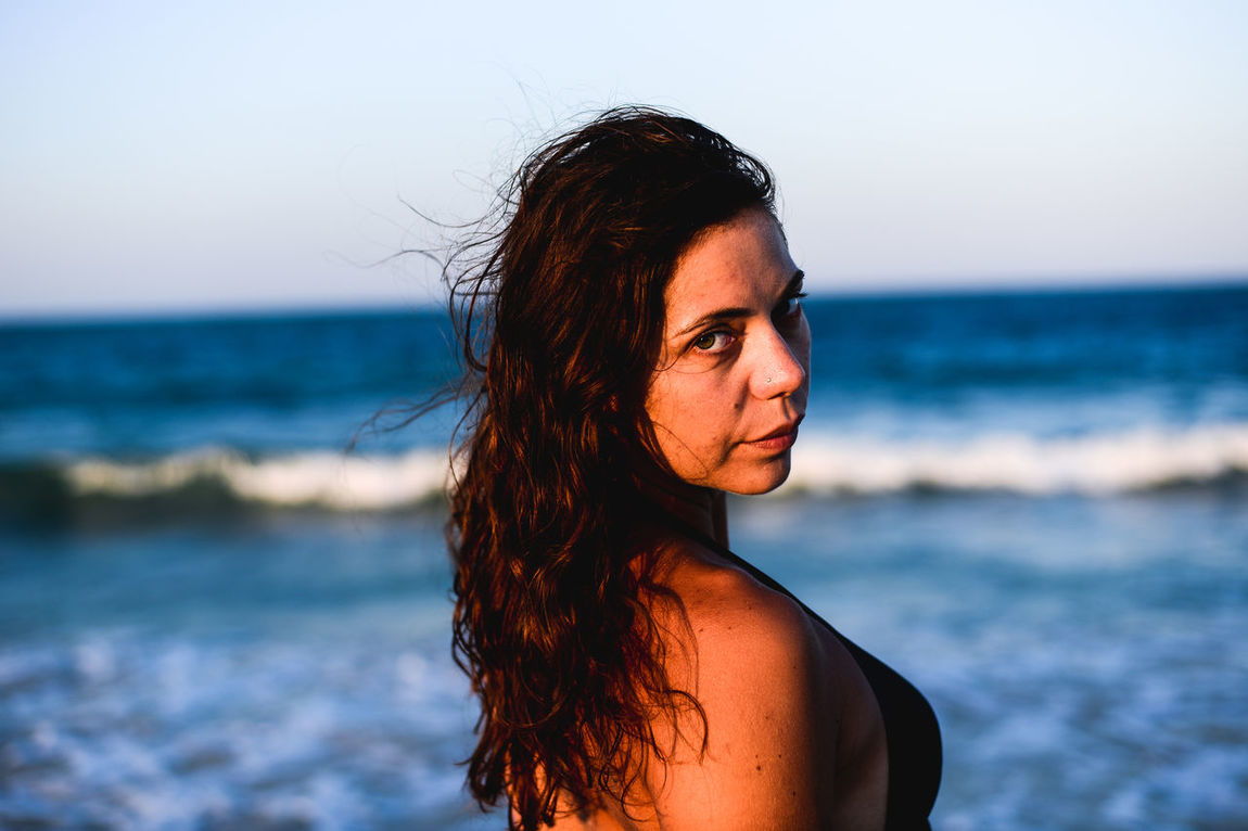 Bautty Beach Beautiful Beautiful People Beautiful Woman Beauty Beutiful  Blue Wave Close Up Female Females Human Face Lifestyles One Person One Young Woman Only Portrait Portrait Of A Woman Sea Summer Summertime Water Woman Women Young Adult Young Women