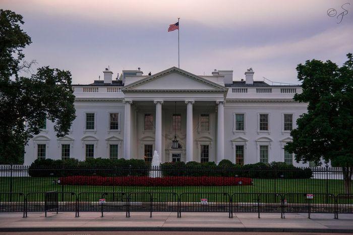White House, Washington DC. 🏡 White House Washington, D. C. Donald Trump Barack Obama USA United States Architecture Government Flag Patriotism City Sky Politics EyEmNewHere No People Architecture