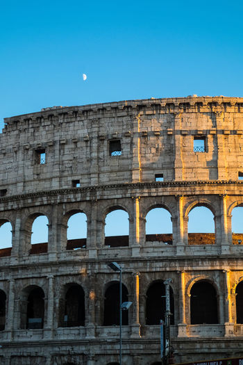 Colosseo Panorama Roma Amphitheater Ancient Architecture Colosseum History Luna Outdoors Tourism