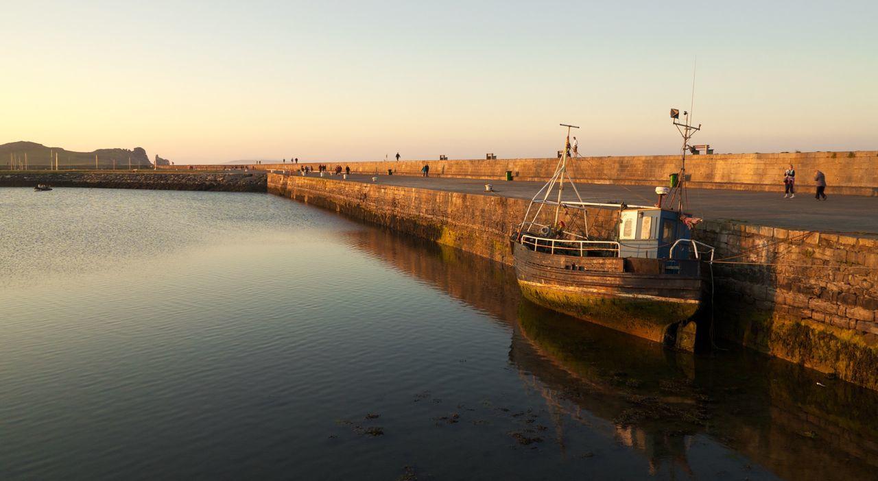 Beautiful stock photos of dublin, , Boat, Cloud, Day