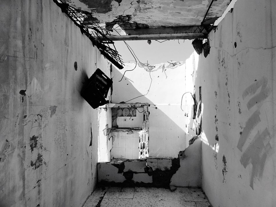 Khiam Lebanon Prison Damaged Destruction Abandoned Weathered Bad Condition No People Day Indoors  Architecture